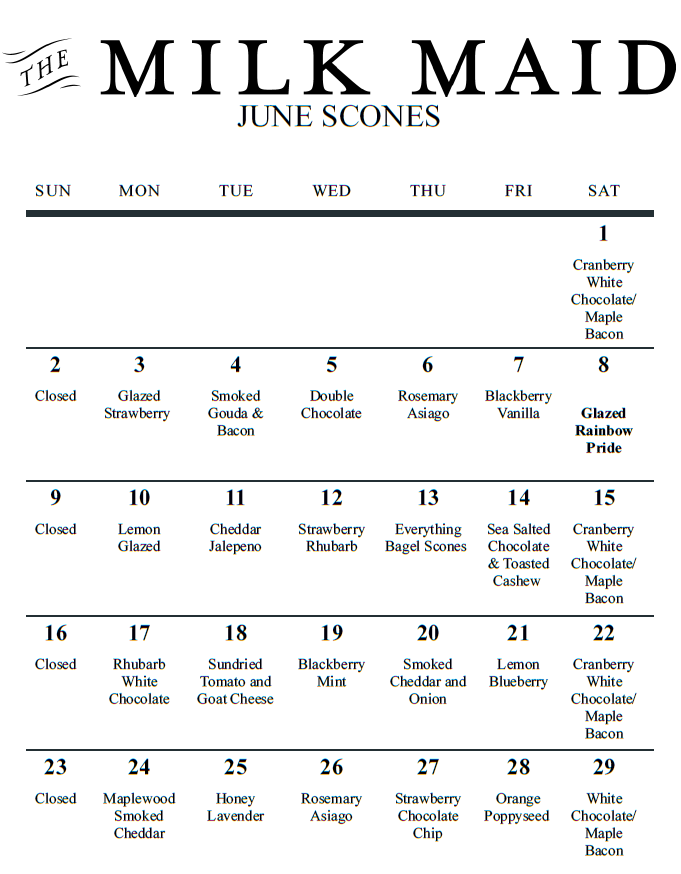 June Scones